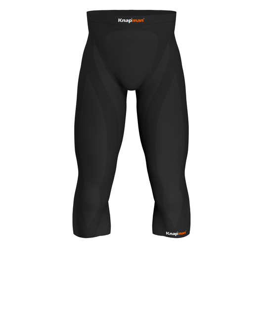 Knap'man Zoned Compression 3/4 Pants 45% USP 45% Zwart