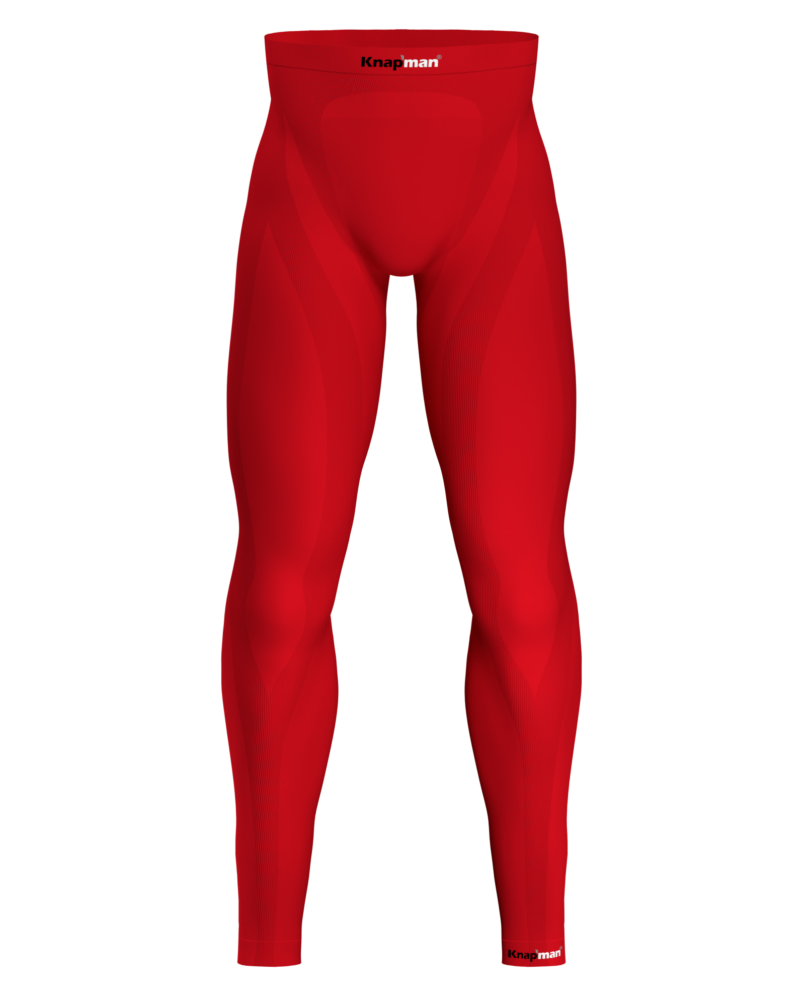 Knap'man Zoned Compression Pants Long 25% rood