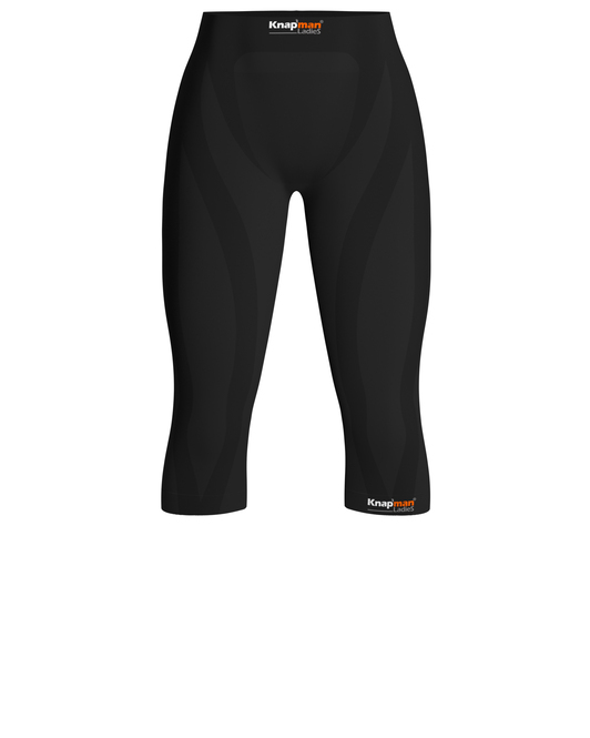 Knap'man Ladies Zoned Compression 3/4 Pants 45%