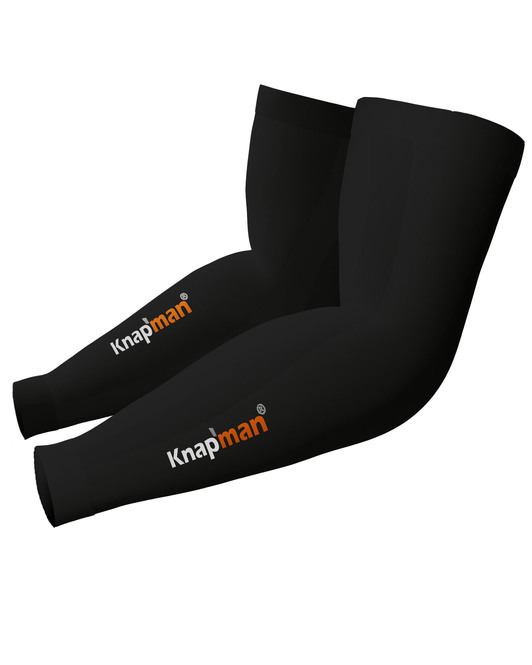 Knap'man Zoned Compression Arm Sleeves 45% zwart