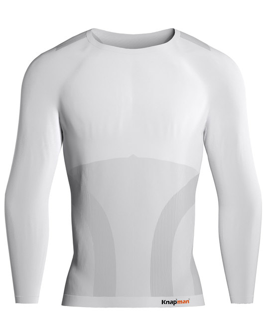 Knap'man Pro Performance Baselayer Shirt Long Sleeve Wit